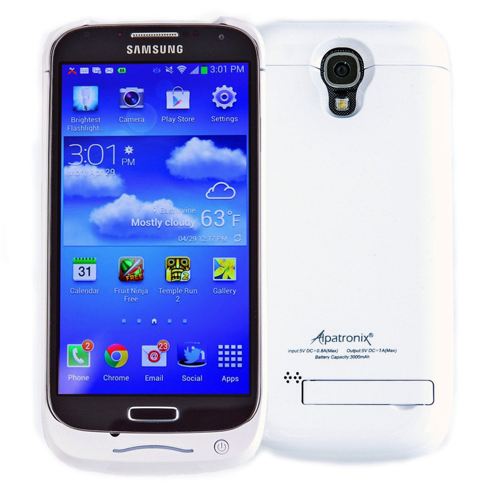 Alpatronix BX400 Samsung Galaxy S4 Battery Charging Case