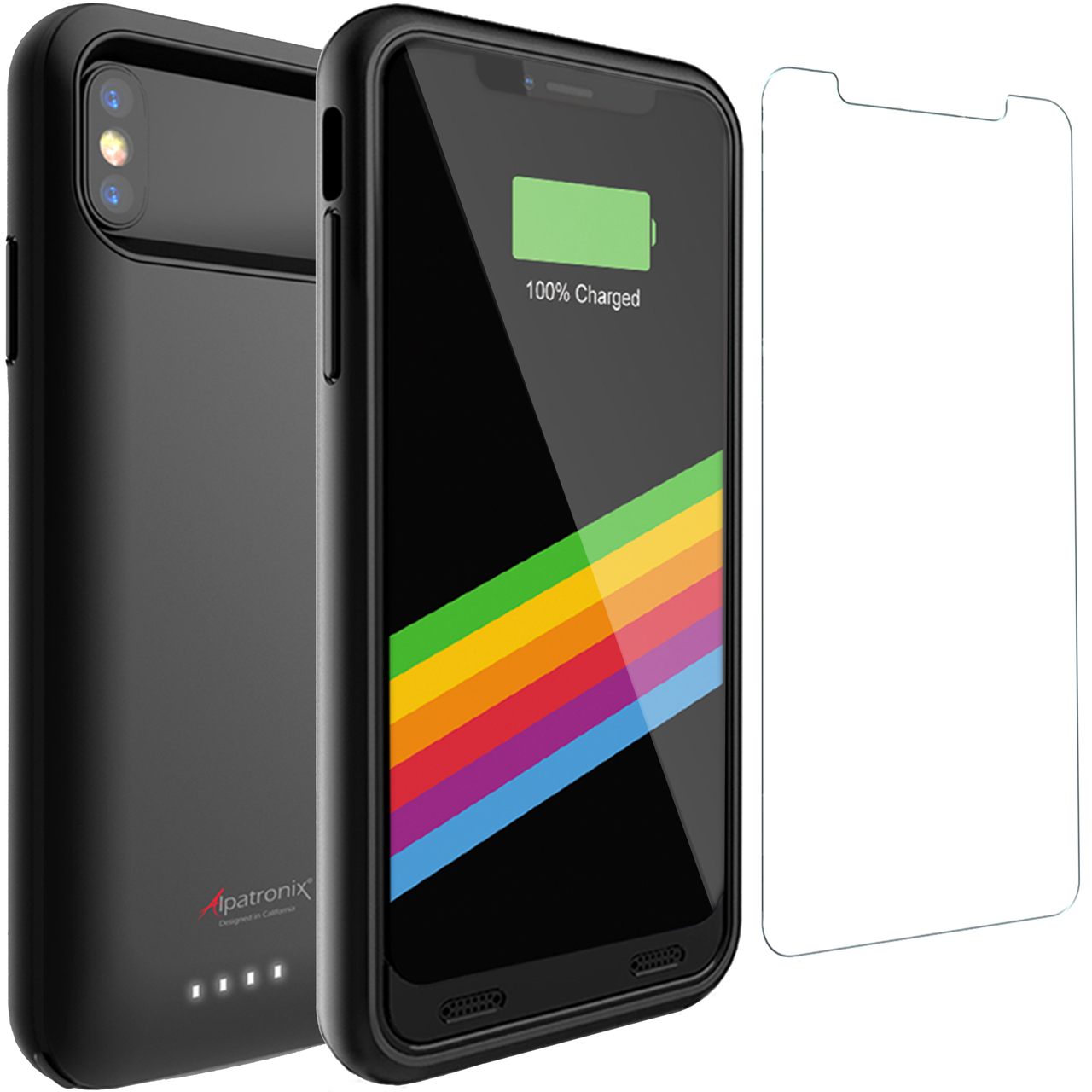 reputable site 11a5d c7c61 4000mAh Battery Case for iPhone X & XS (BX10)