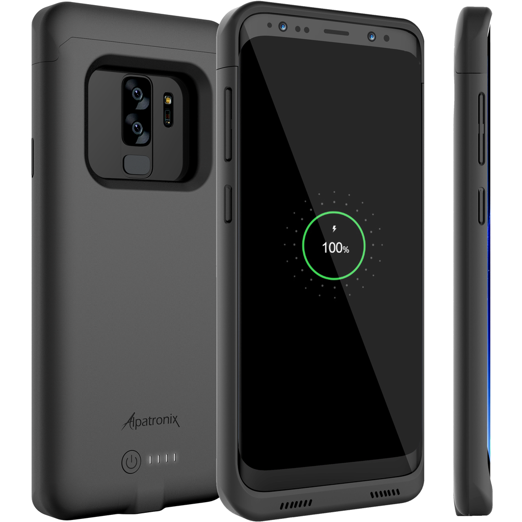 4600mAh Qi Compatible Battery Case for Samsung Galaxy S9+ (BX440plus)