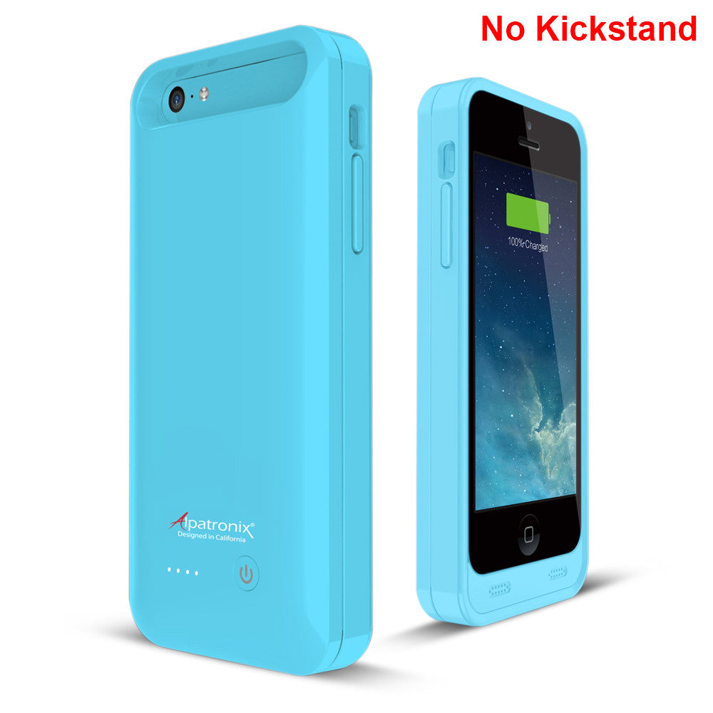 2400mAh Battery Case for iPhone 5, 5S, 5C, & SE (BX120plus)