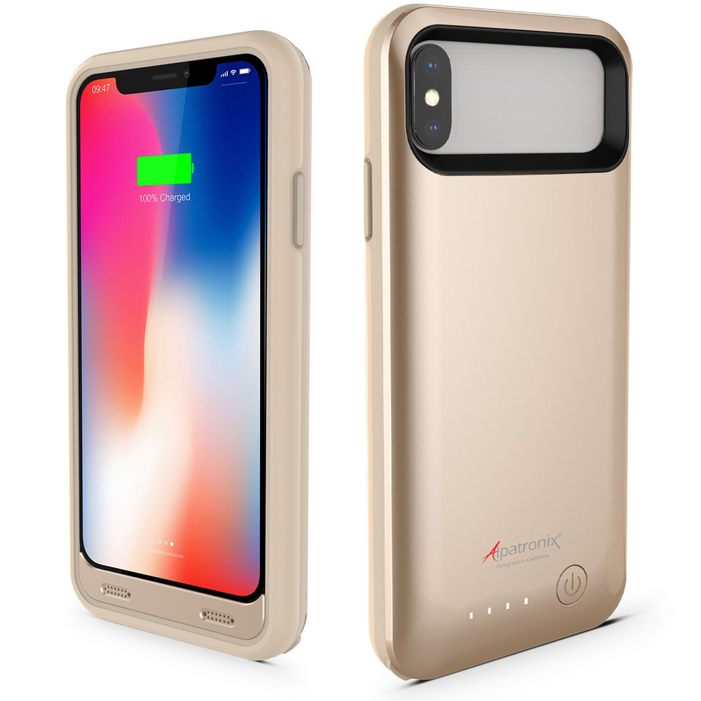 Alpatronix BX10 (5.8-inch) 4000mAh iPhone X Battery Charging Case with Apple Certified Chip