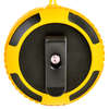 back - yellow ax320 bt speaker with clip
