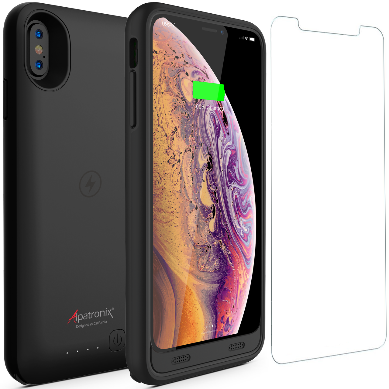 the best attitude f2988 a63b5 3500mAh Qi Compatible Battery Case for iPhone XS Max (BX10 Max)