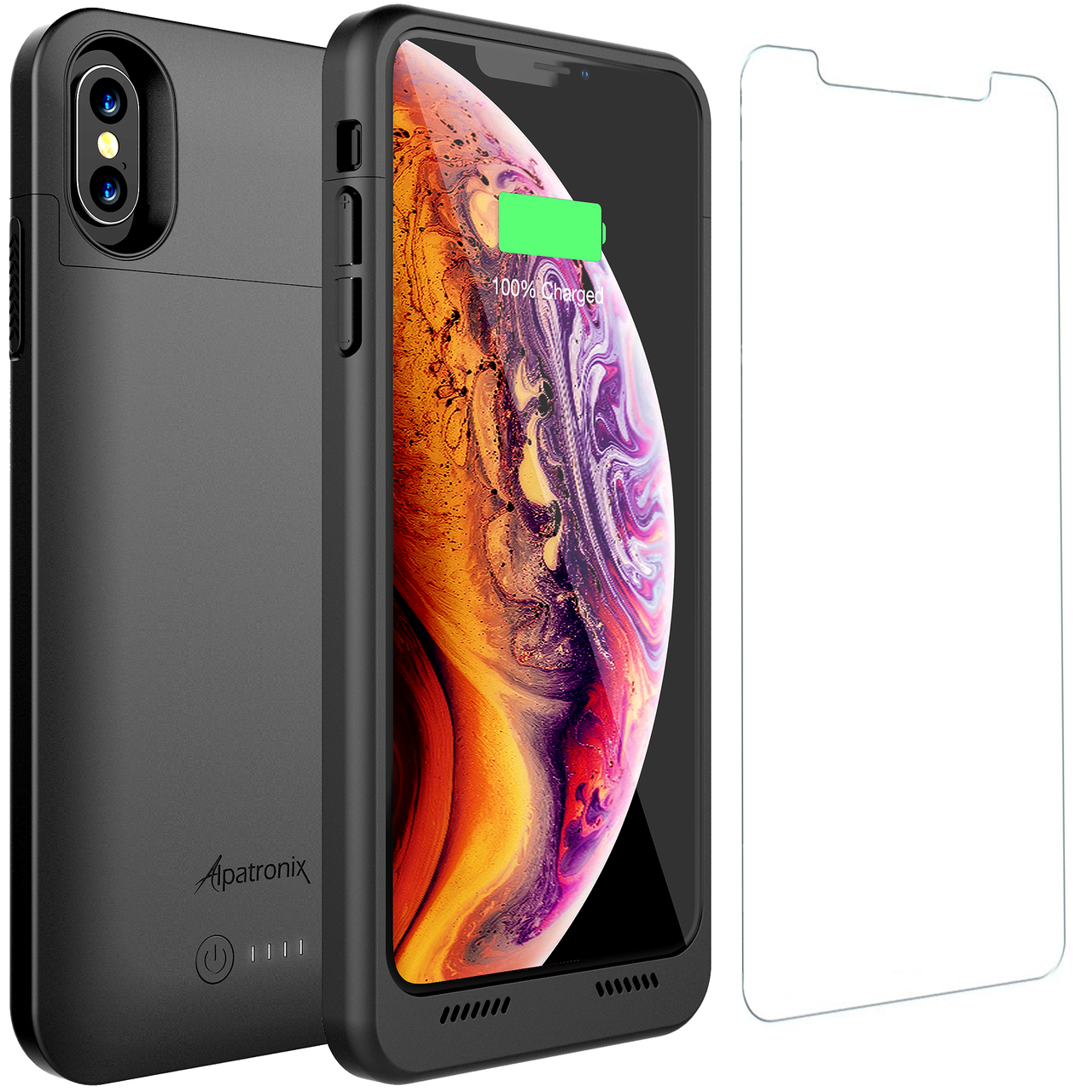 iphone xs max rechargable case