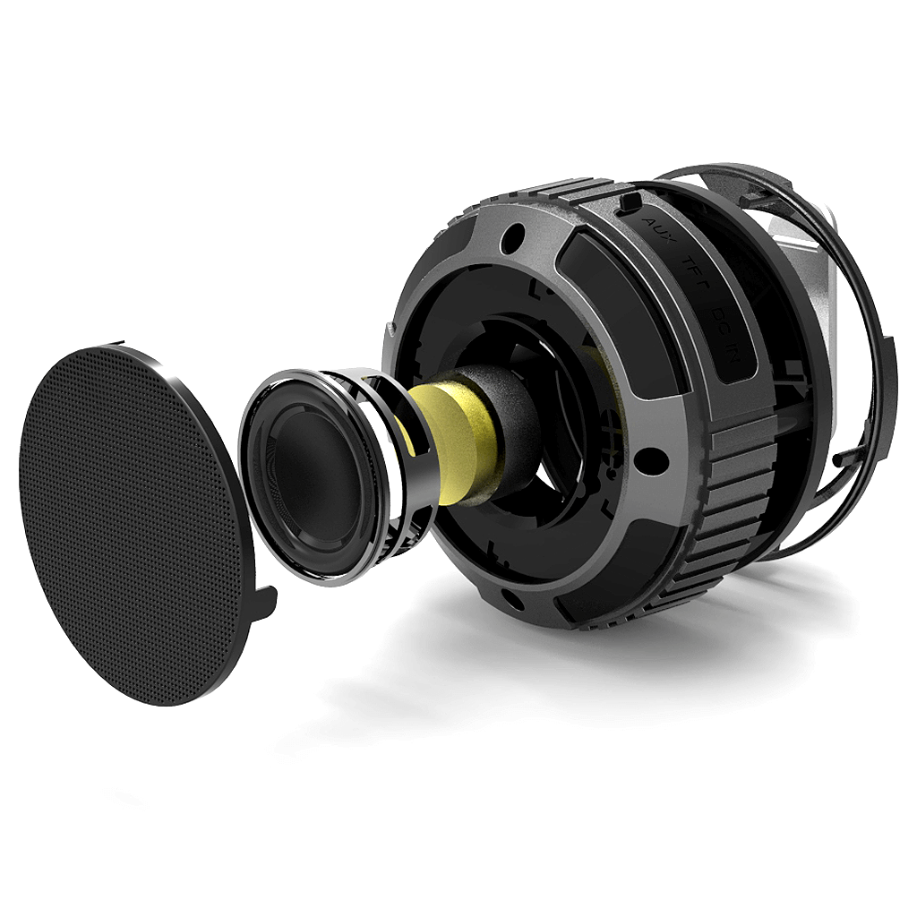 black ax320 speaker housing and parts