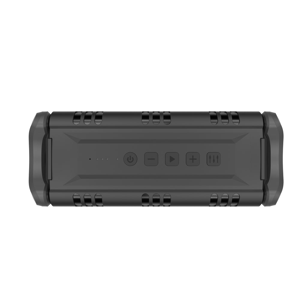 40W Waterproof IPX5 Bluetooth Wireless Speaker with USB Flash Drive Support, Equalizer, & Subwoofer (AX500)