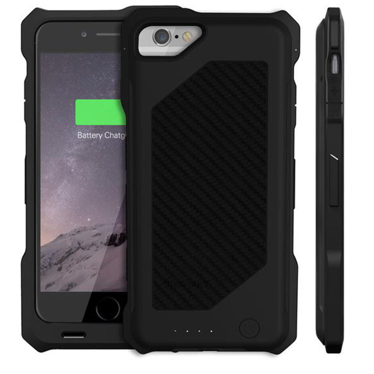 timeless design 5c173 42bf7 3500mAh Rugged Battery Case for iPhone 6 & 6S (BX150)