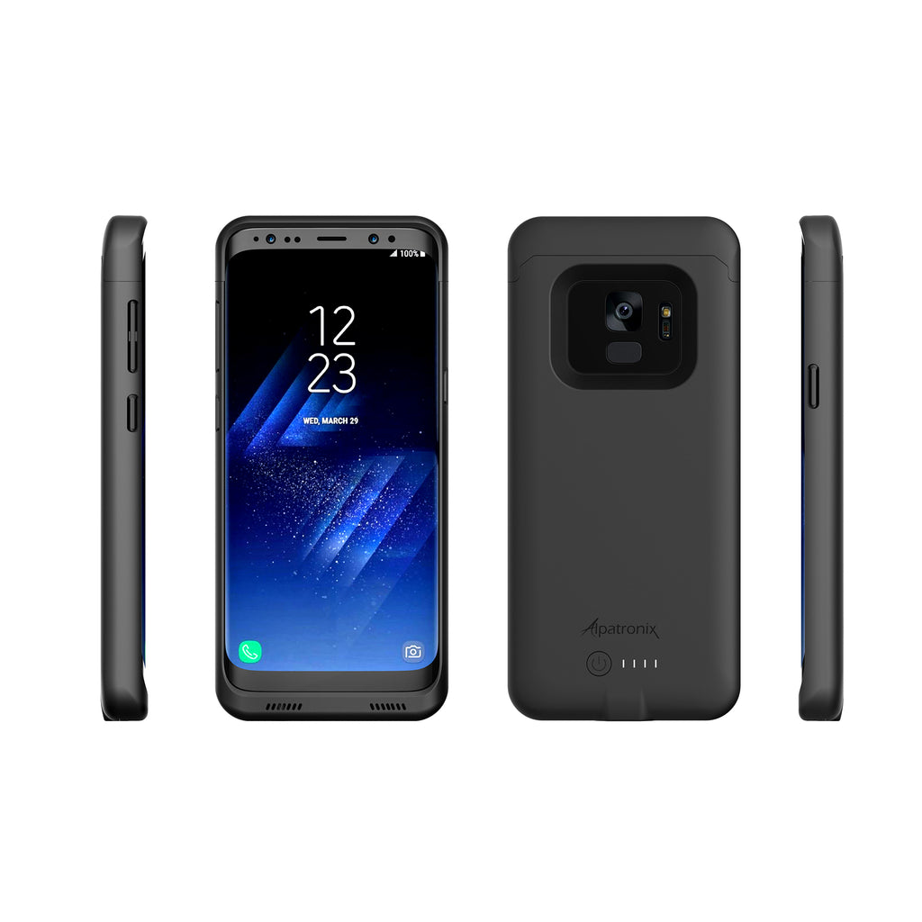 4000mAh Qi Compatible Battery Case for Samsung Galaxy S9 (BX440)