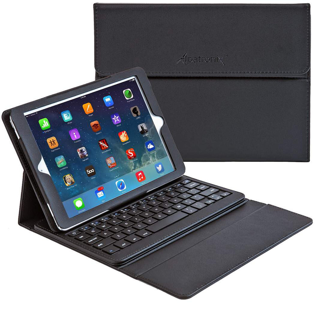 KX130 Bluetoth Keyboard case for iPad Air - Black