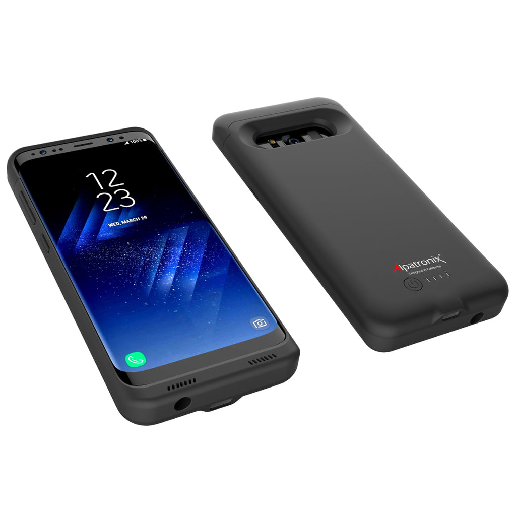 4500mAh Qi Compatible Battery Case for Samsung Galaxy S8 (BX430)