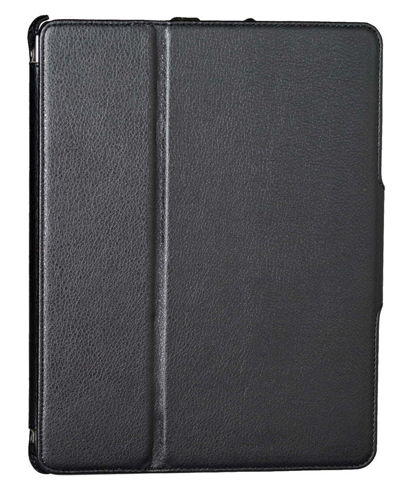Alpatronix Protective Apple iPad 2 Folio Case and 4-In-1 Stand (Vegan Leather) - Multiple Colors