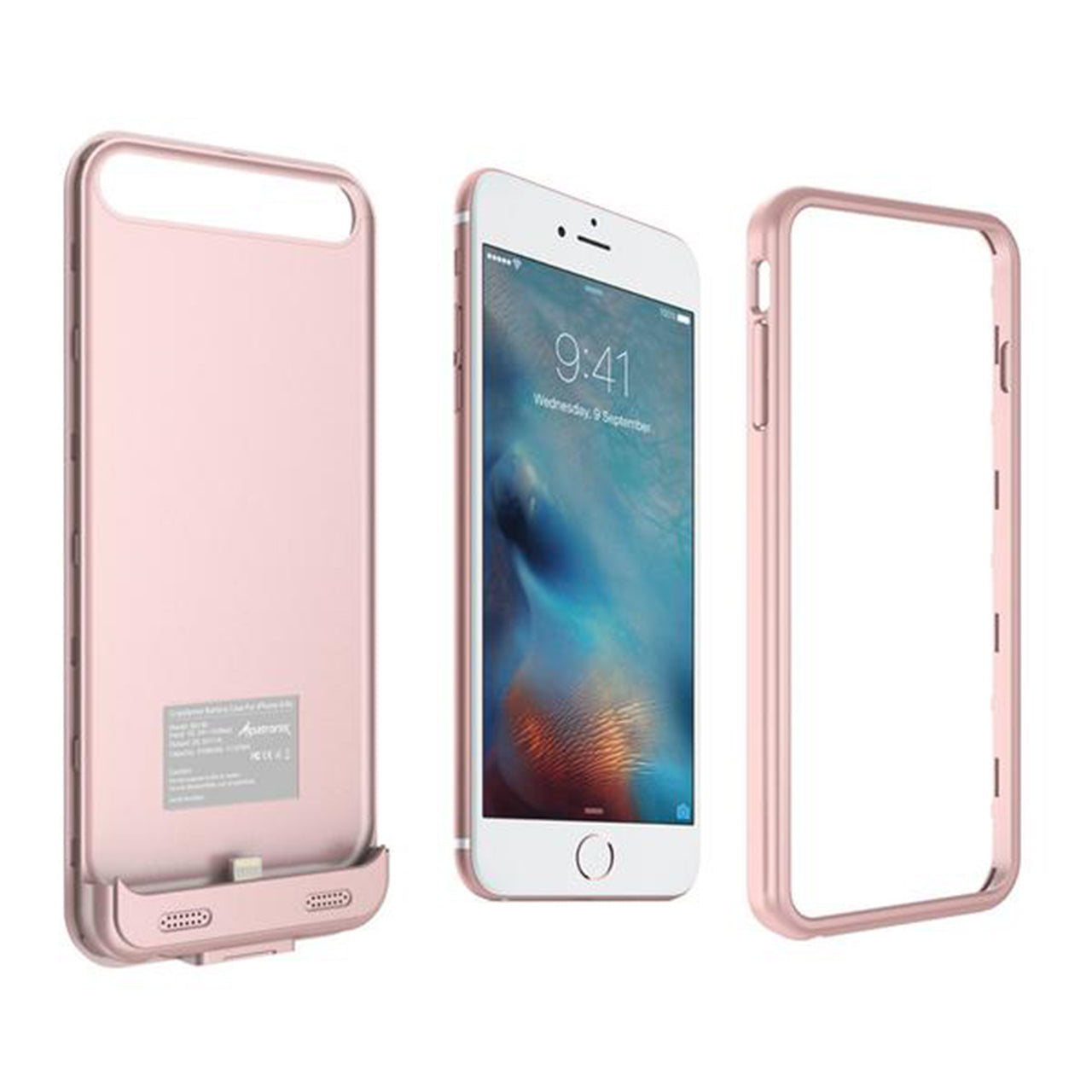 Rose Gold & Pink Bumpers