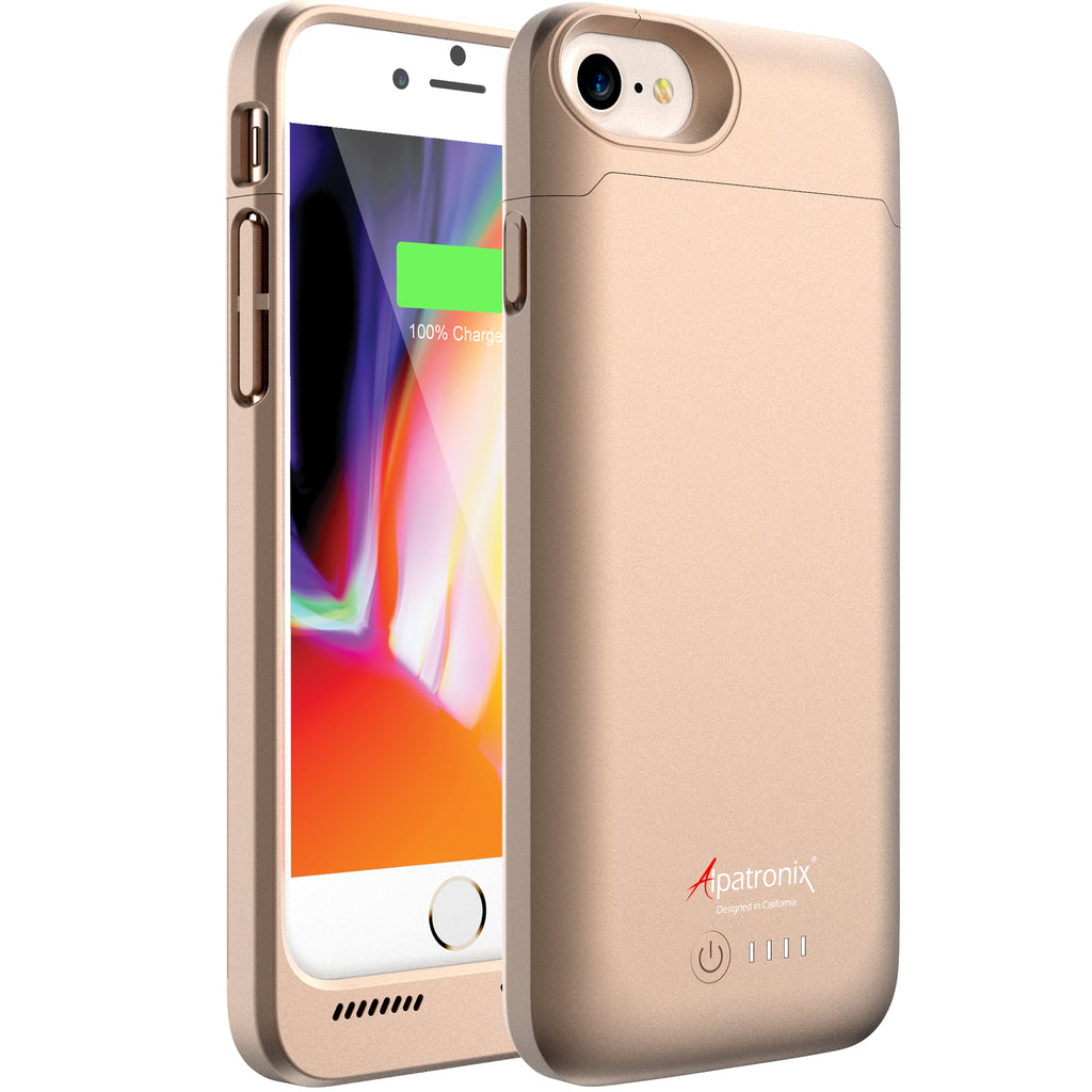 3200mAh Qi Compatible Battery Case for iPhone 7 & 8 (BX190)
