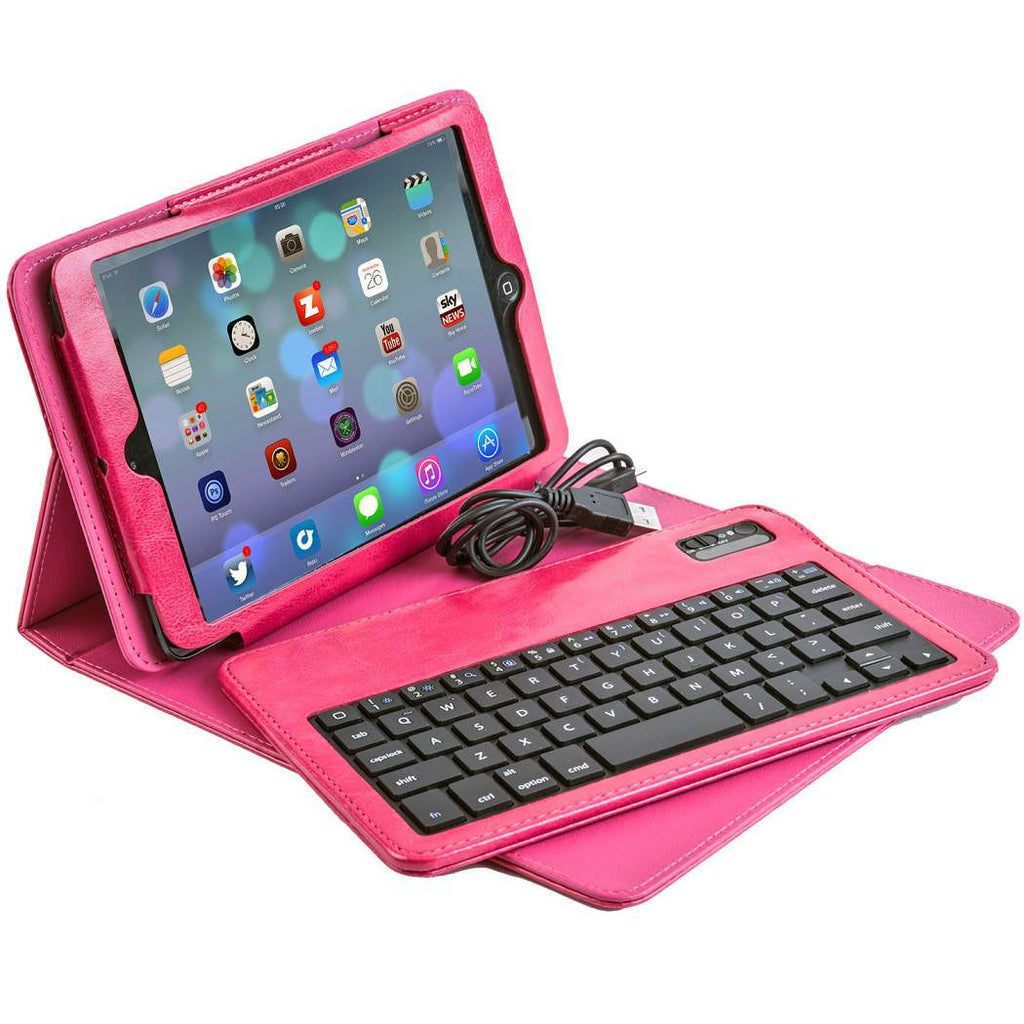 KX101 Bluetoth Keyboard case for iPad Mini - Pink