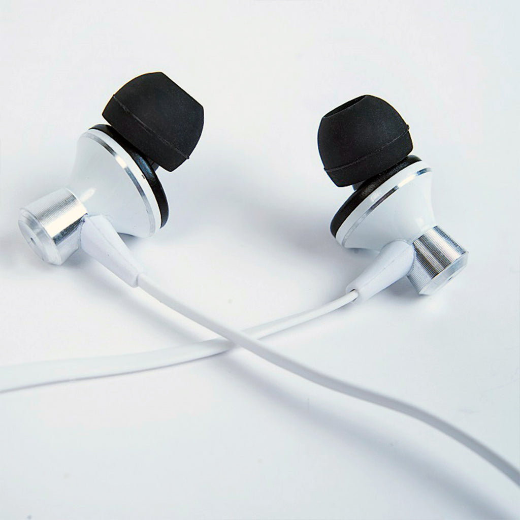 In-Ear Tangle-Free Earbuds with Playback & Volume Controls for iOS Devices (EX100)