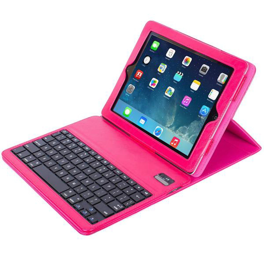 PU Leather Folio Case with Bluetooth Keyboard for iPad 2, 3 & 4 (KX100)
