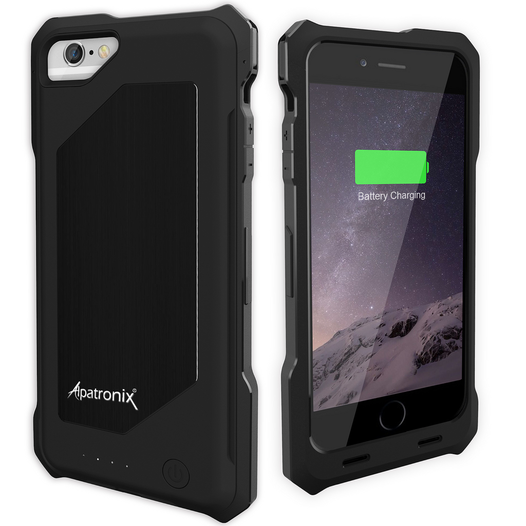 black bx150 iphone 6 battery case - aluminum back