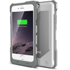 white bx150 iphone 6 battery case - aluminum back