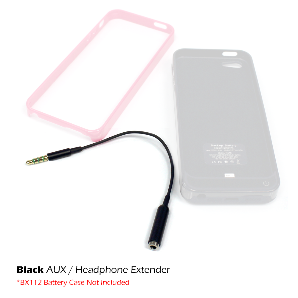 black bx112 headphone audio extender