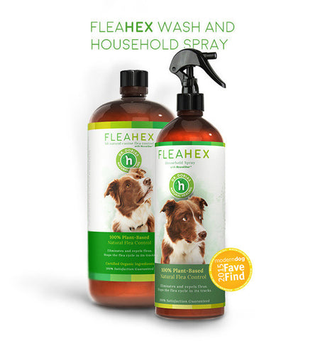 FleaHex Combo - all natural flea control for dogs
