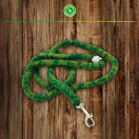 Featherlight Leash - soft, durable woolen leash