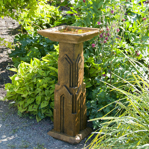 Art Deco Birdbath - Large