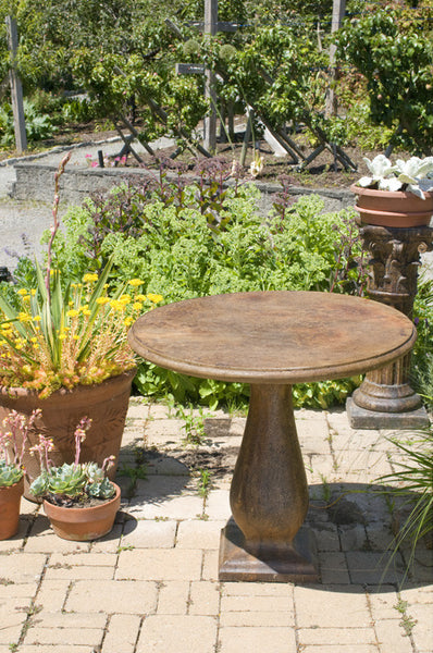 Bistro Table in Ancient Stone finish