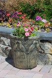 Birds of Paradise - Half Planter in York Stone
