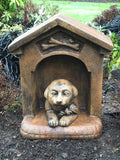 Daisy in the Doghouse in Ancient Stone finish