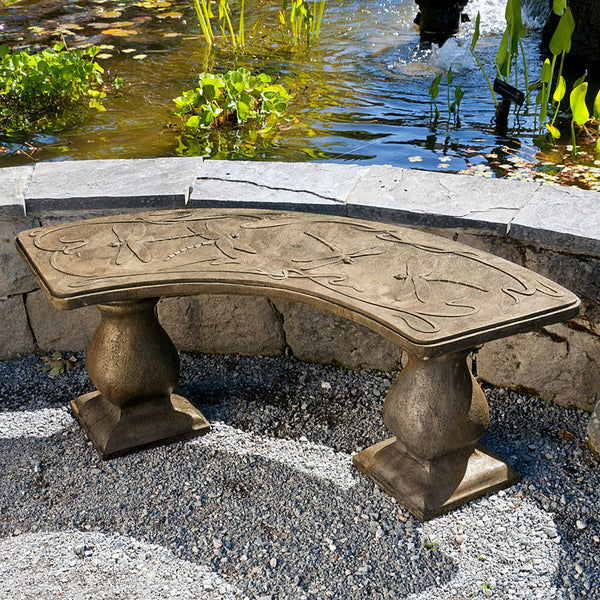 Dragonfly Bench - Curved