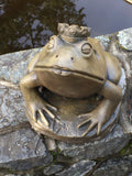 Frog Prince in York Stone