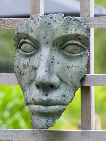 Small Hanging Portrait of Mother Nature in Western Slate Finish