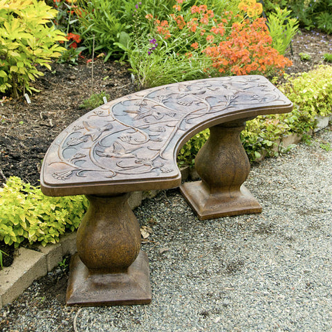 Hummingbird Bench - Curved