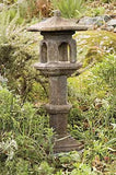 Japanese Lamp  in Ancient Stone Finish