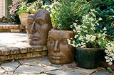 Medium Young Emperor in Ancient Stone Finish (right)