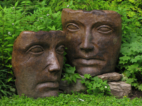Portrait of Mother Nature in Ancient Stone Finish