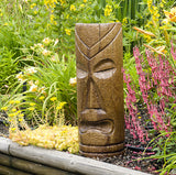 Polynesian Tiki Mask - Large in Ancient Stone