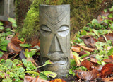Polynesian Tiki Mask - Small in Western Slate Finish