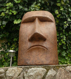 Rapa Nui Face Large in Ancient Stone Finish