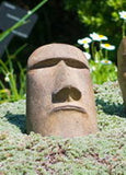 Small Rapa Nui Face in Ancient Stone Finish