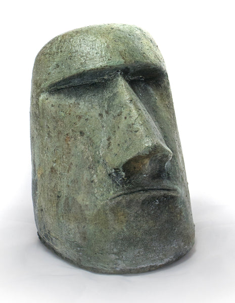 Small Rapa Nui Face in Western Slate Finish