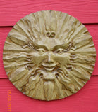 Small Sol the Sun in Ancient Stone Finish