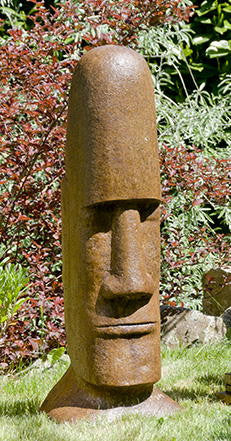 Tiki Head -  Easter Island Large in Ancient Stone