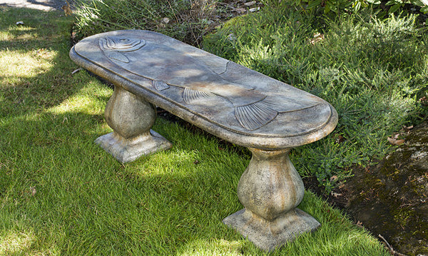 Trophy Fish Bench - Straight in Western Slate