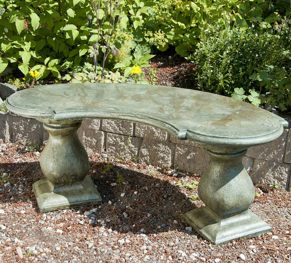 Traditional Colonial Bench - Curved