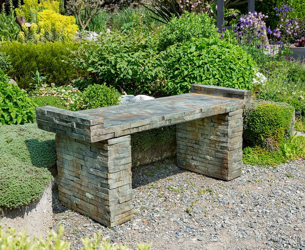 Stacked Stone Large bench