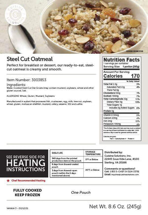 Easy Gluten-Free Steel-Cut Oatmeal