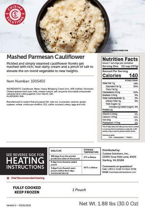 Mashed Parmesan Cauliflower