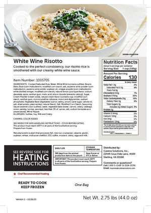 Risotto with White Wine