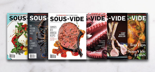 Sous-Vide Magazine Bundle - Issues 1–6